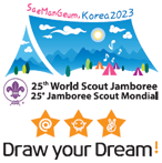 SaeManGeum,Korea2023 25thWorld Scout Jamboree 25Jamboree Scout Mondial Draw Your Dream!